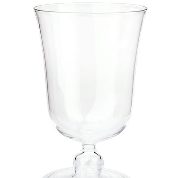 Clear Large Footed Wine Glass