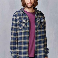 Globe Alfred Hooded Flannel Button-Down Shirt