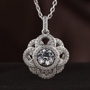 MultiLayered Premium Design Swarovski Crystal Necklace