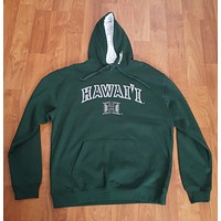 "Hawaii ""Warriors"" Neckline Pullover hoodie"