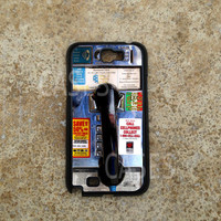 Samsung Galaxy Note 2 Case, Retro Payphone Galaxy Note Cases, Coolest Unique Note 2 Cover