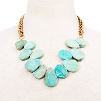 Chunky Amazonite Necklace