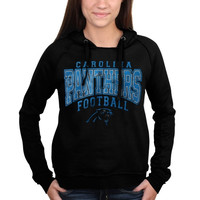 Carolina Panthers 5th & Ocean by New Era Women's Pullover Hoodie – Black