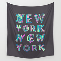 NYC Wall Tapestry by Fimbis