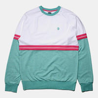 Billionaire Boys Club Bankie Crewneck Sweatshirt - Heather Ocean Wave at Urban Industry