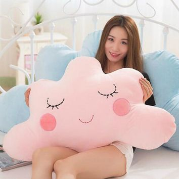 Cute Cloud Shaped Pillow Cushion Stuffed Plush Toy Bedding Home Decoration Gift