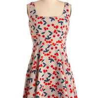 Very Berry Charming Dress | Mod Retro Vintage Dresses | ModCloth.com