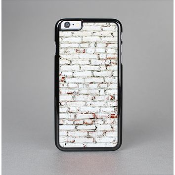 The Grungy Red & White Brick Wall Skin-Sert Case for the Apple iPhone 6