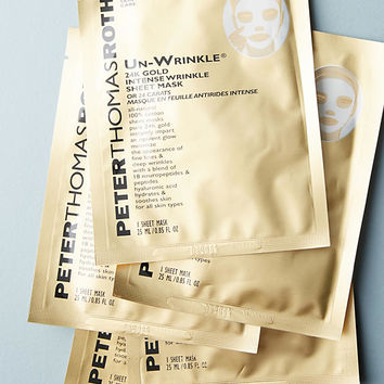 Peter Thomas Roth Un-Wrinkle 24k Gold Intense Wrinkle Sheet Mask Set
