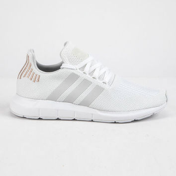 ADIDAS Swift Run Cloud White & Crystal White Womens Shoes