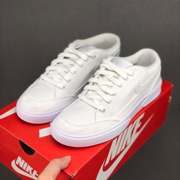 HCXX 19June 994 Nike GTS Classic casual canvas board shoes white