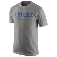 Nike Air Force Falcons College Wordmark T-Shirt - Gray