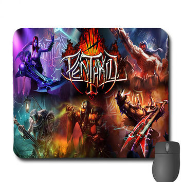 League Of Legends - Custom League Of Legends PENTAKILL Mouse Pad Mousepad Nidalee