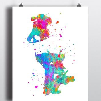 Macau Map Art Print - Unframed