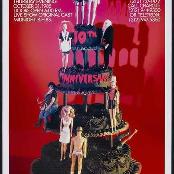 The Rocky Horror Picture Show 11x17 Movie Poster