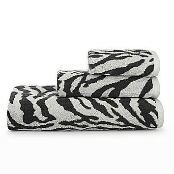 Bay Linens Animal-Print Bath Towels | Dillards.com
