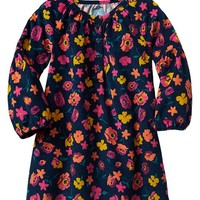 Gap Baby Factory Floral Cord Dress