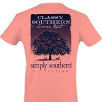 Gliks - Simply Southern Preppy Collection Summer Roots T-shirt for Women