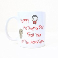 Happy Mother's Day Coffee Mug - From Your Little Monsters