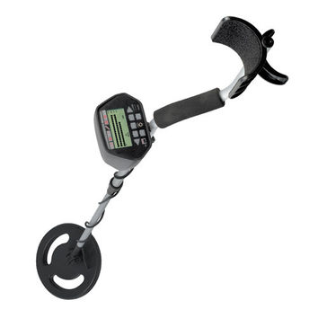 "NEW 50"" METAL DETECTOR LCD DISPLAY DEEP TREASURE HUNTER WATERPROOF COIL"