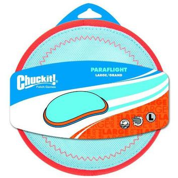 Petmate Chuckit! Paraflight Flying Dog Toy Sz: Large