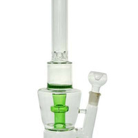 "15"" Stemless + Honeycomb + stereo Showerhead + Ice Catcher + Color. Water pipe"