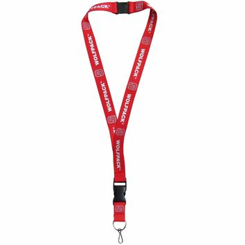 """North Carolina State Wolfpack 21"""" Lanyard Key Chain with Safety Release NCAA"""
