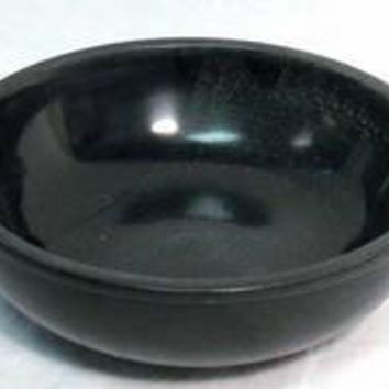 Black Stone Scrying Bowl 6""
