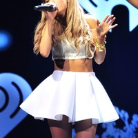 Ariana Grande at 106.1 KISS FM Jingle Ball 2013 in Dallas - December 2013 - CelebMafia