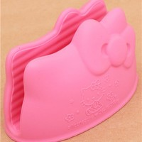 Hello Kitty mini silicone oven mit oven glove from Japan - Bento Accessories - Bento Boxes