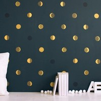Moon Crescents Wallpaper: Remodelista