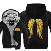 bronzing The Walking Dead Daryl Dixon Wing hoodies