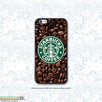 Starbucks, Custom Phone Case for iPhone 4/4s, 5/5s, 6/6s, 6/6s+, iPod Touch 5