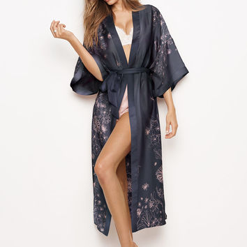 Long Satin Kimono - Dream Angels - Victoria's Secret