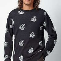 OBEY Shepard Rose Crew Neck Sweater at PacSun.com