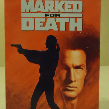 20th Century Marked For Death VHS Movie  * Plastic * -- Used