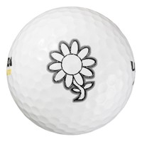 Art Flower Pack Of Golf Balls
