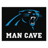 Carolina Panthers NFL Man Cave All-Star Floor Mat (34in x 45in)