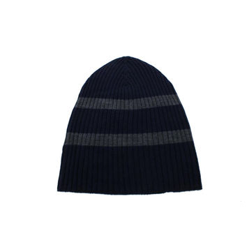 Culture Phit Mens Merino Wool Ribbed Knit Beanie Hat