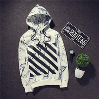 Hats Long Sleeve Hoodies Korean Men Hip-hop Jacket [6541228483]