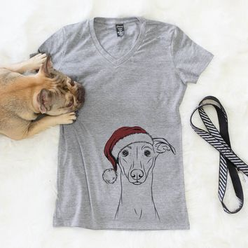 Wallace the Whippet  - Christmas Collection
