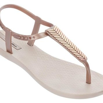Ipanema - Eva Sandals | Rose Gold