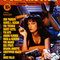 Pulp Fiction – Cover with Uma Thurman Movie Poster