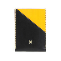 I liked this design on #Fab. Leather Wallet Portrait Yellow