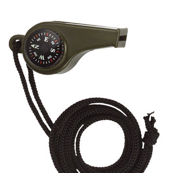 Classic Safety Whistle / Black