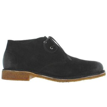 ESBONIG Hush Puppies Norco - Black Suede Desert Boot