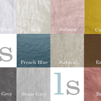 Linen color Card