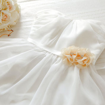 Flower wedding sash, bridal belt, bridal sash, bridemaids sash, flowergirl sash, wedding accessory - style 504