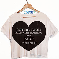 Super Rich Kids Crop Shirt