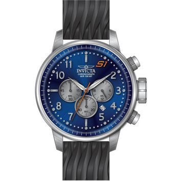 Invicta Men's 23812 S1 Rally Quartz Chronograph Blue, Grey Dial Watch